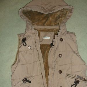 Maurices fur lined vest